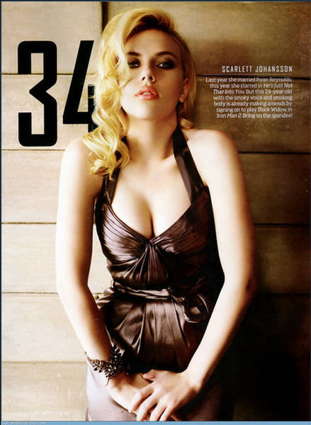 Scarlett Johansson Hot Photos