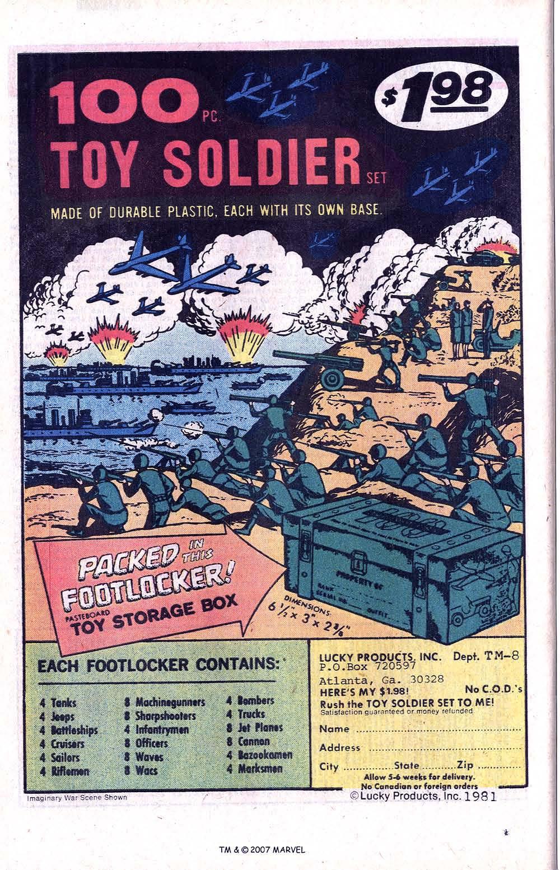 Captain America (1968) Issue #256 #171 - English 34