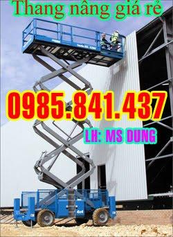 Thang nâng zic zac, thang nâng người, thang nâng tự hành (300 kg - 11m)
