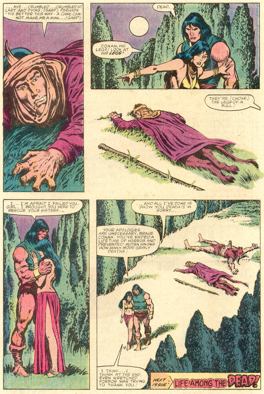 Conan the Barbarian (1970) Issue #142 #154 - English 23