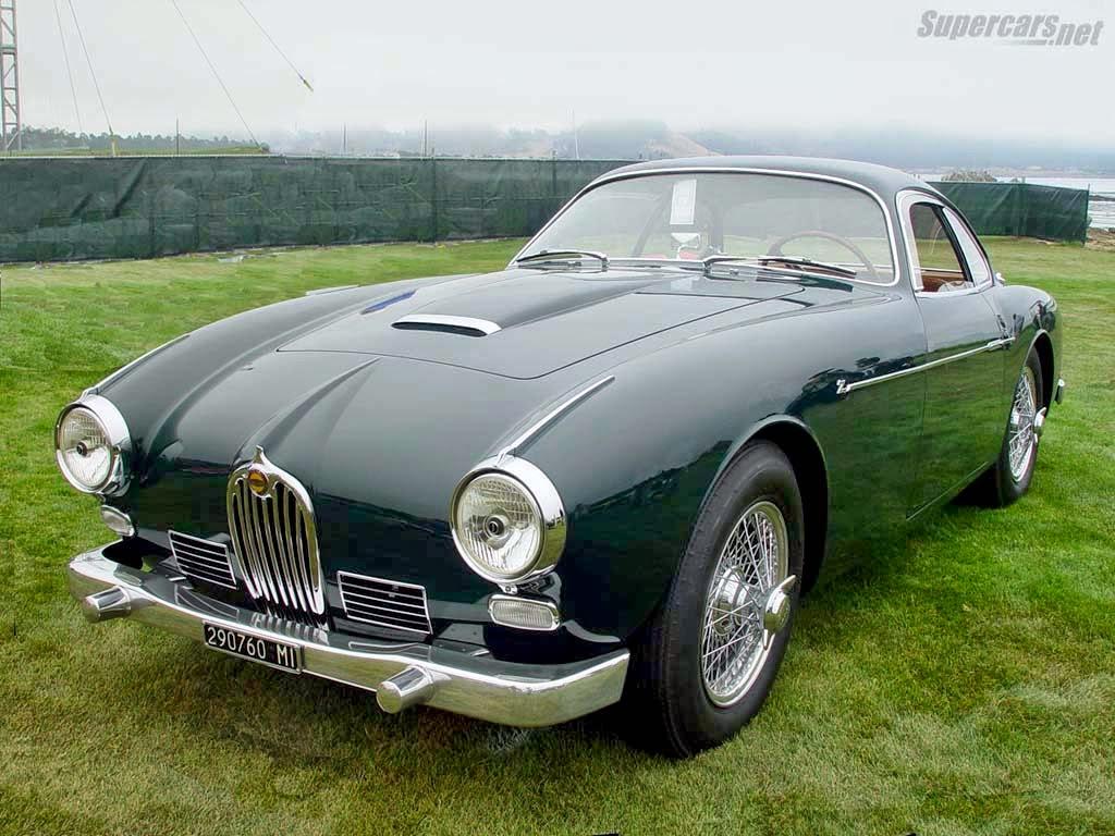 Fab Wheels Digest F W D 1954 Jaguar Xk140 Zagato Coupe
