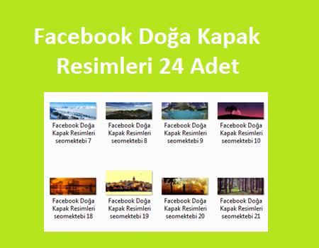 Facebook Doğa Kapak Resimleri 24 Adet