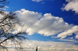 Wolkenzüge...