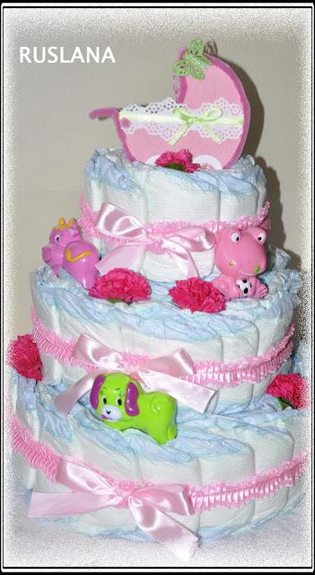 фото торти для новонароджених