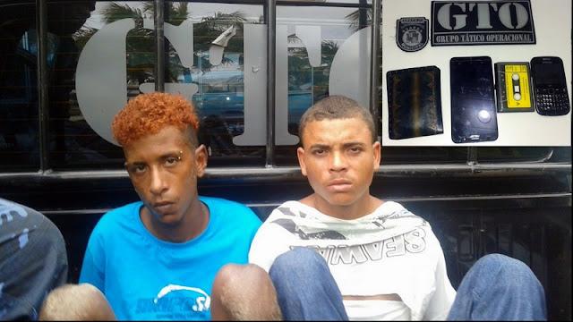 Dupla é detida pela Guarda Municipal após assalto em Aracaju