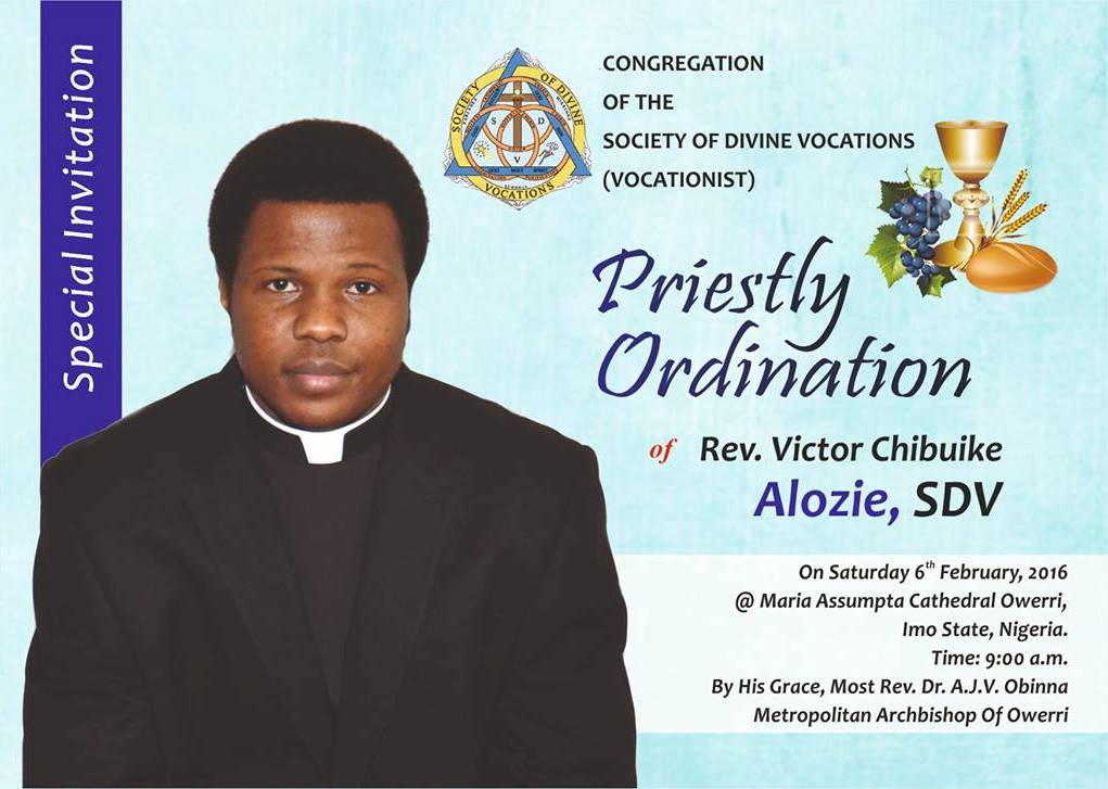 Silver jubilee priestly ordination invitation cards all the best 40th ordination anniversary of priest card and anniversaries stopboris Choice Image