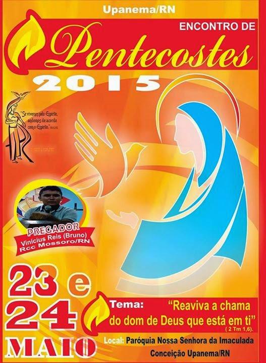 Encontro de Pentecostes 2015