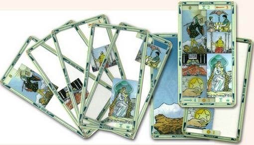 Universal Transparent Tarot Lo Scarabeo Emily Carding ไพ่ไรเดอร์เวท ไพ่ทาโร่ไรเดอร์เวท ไพ่ทาโรต์ไรเดอร์เวท ใส ไพ่ยิปซี โปร่งใส ไพ่ทาโรต์