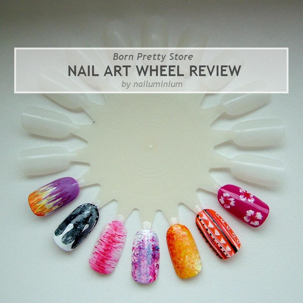Nailuminium: BP Store Review: Nail Art Wheel & Brushes