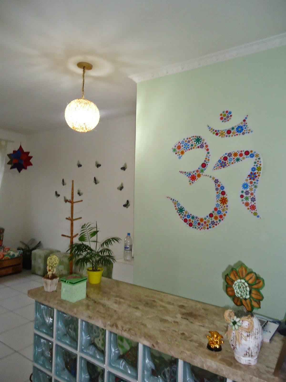 Decoração Yoga ~ Nad u00eajda Licia Espaço Terap u00eautico Nova decoraç u00e3o da escola