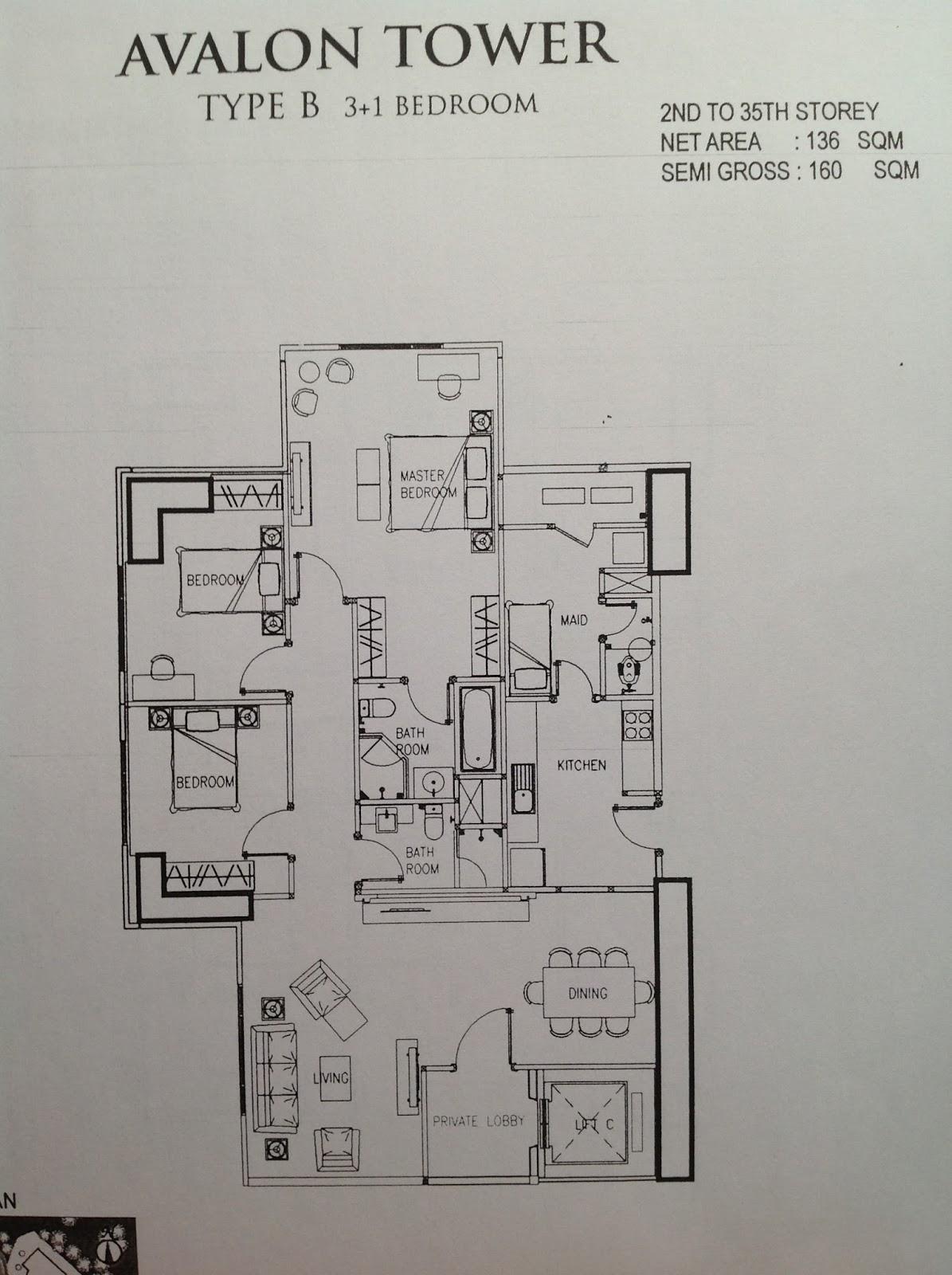 Casa grande residence your desire for quality living for Avalon floor plan