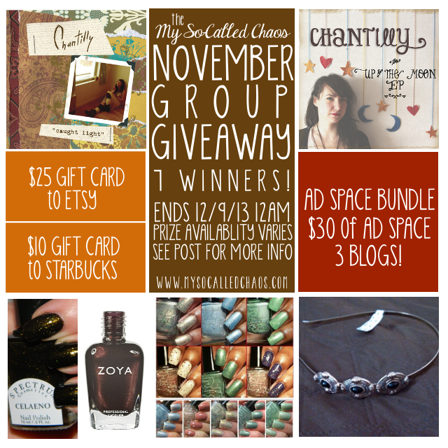 November Group Giveaway