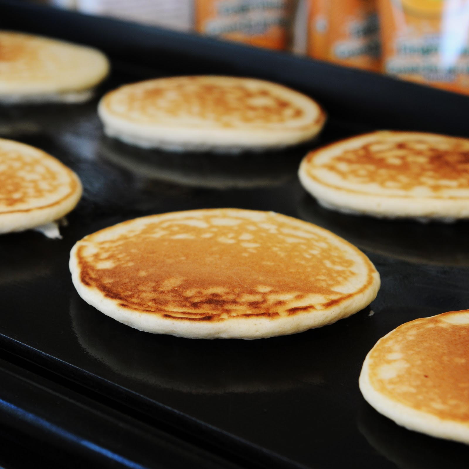 how to make 4 pancakes from scratch