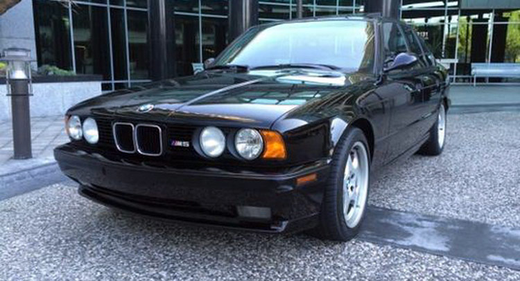 1993 BMW M5 with 9801 Miles will Cost You More Than a Brand New M5
