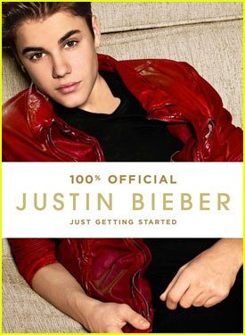 bookcover of JUSTIN BIEBER: JUST GETTING STARTED