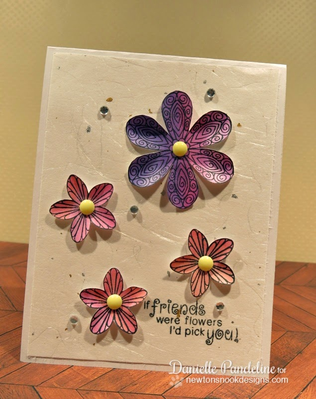 Beautiful Blossoms Card | Featuing Newton's Nook Designs Stamps | Created by Danielle Pandeline