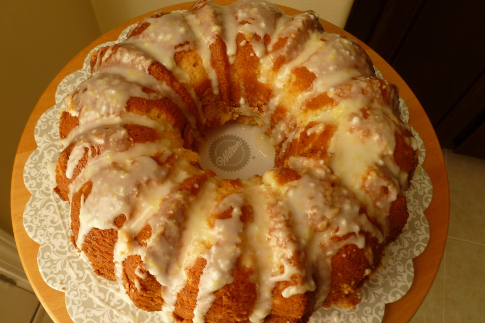 The Pastry Chef S Baking Sour Cream Lemon Pound Cake
