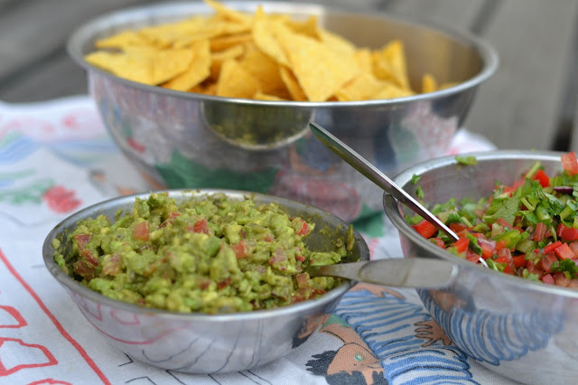 Guacamole ja salsa