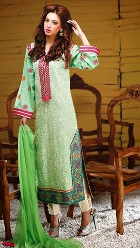 Hadiqa Kiani Eid Collection 2014