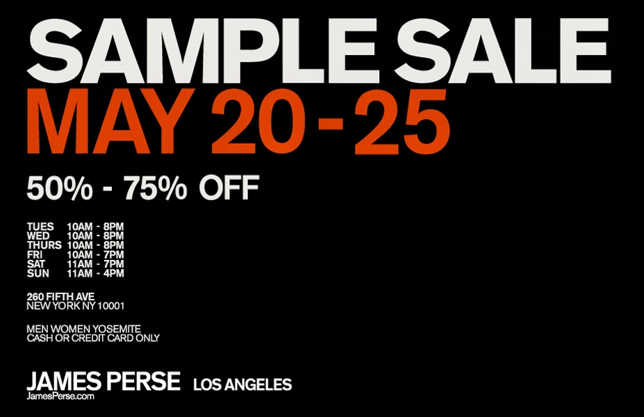 fashionably petite: James Perse Sample Sale
