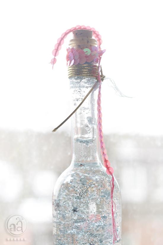 Make a magic bottle a tutorial artsy ants for Magis bottle