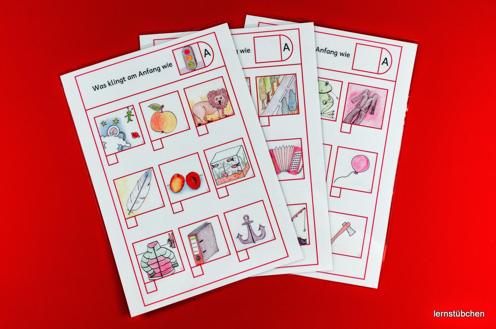 Lernstübchen: rund um die Einführung der Buchstaben