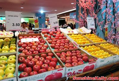 Welcome to Japan Fair, Iwate Food Fair, AEON Bandar Utama, bandar utama, shopping mall, japan food fair,  mochi, kids bento, osechi, origami workshop, japan apple