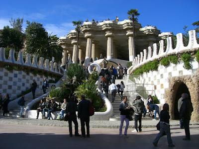 Park Güell in Barcelona
