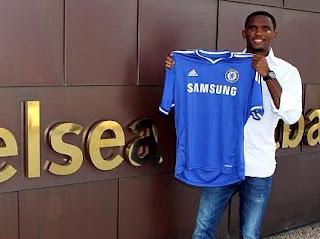 Samuel Eto'o Resmi Gabung Dengan Chelsea
