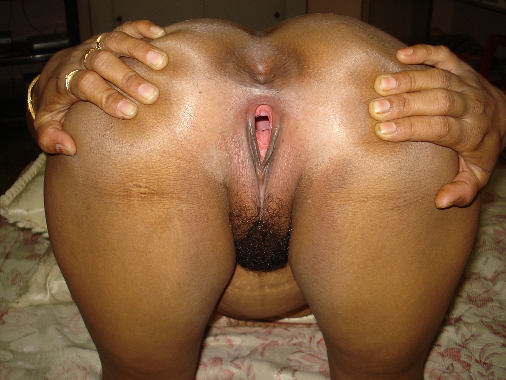 indian desi Big aunty pussy ass