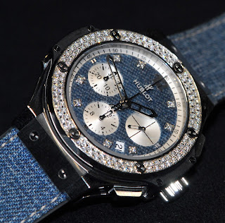 Montre Hublot Big Bang Jeans Tina Zegg Diamants