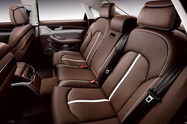 2013 Audi A8 L Sedan Back sit Interior