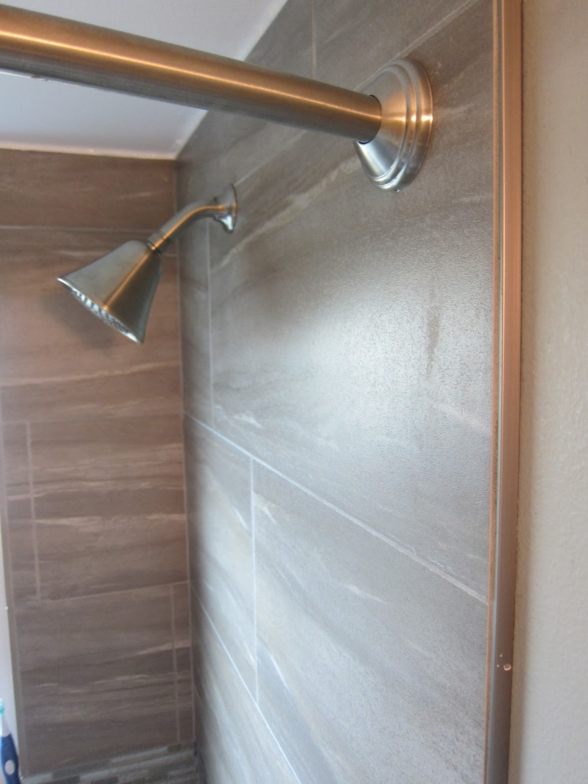 Tiling the shower - to bullnose or not to bullnose? | Late Day Sun