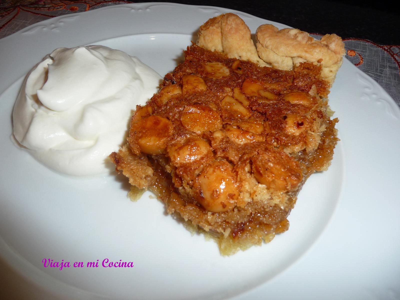 Pastel de Nueces de Macadamia