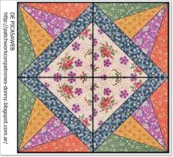 Patchwork solo patrones todo gratis patchwork formas - Patchwork en casa patrones ...