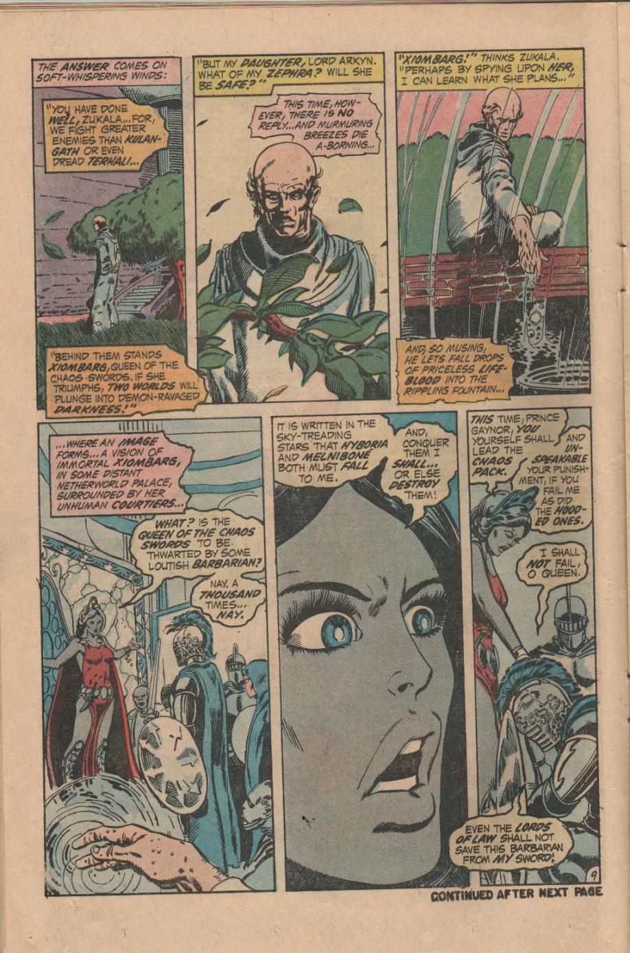 Conan the Barbarian (1970) Issue #14 #26 - English 10
