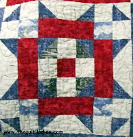 free how to quilt graduation block