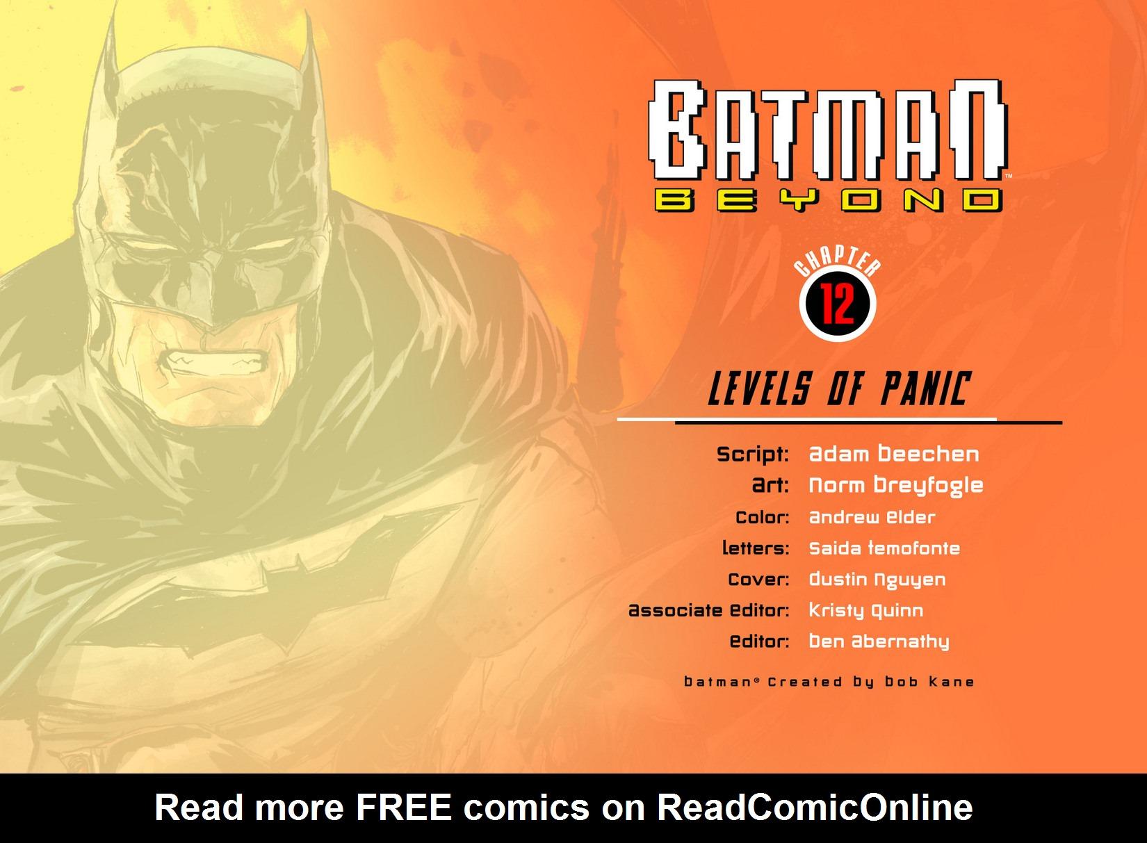 Batman Beyond (2012) Issue #12 #12 - English 2