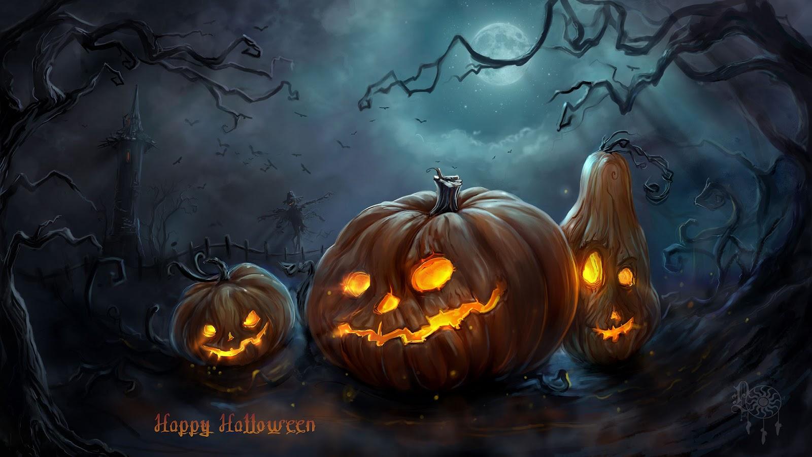 happy halloween animated images - Happy Halloween Com