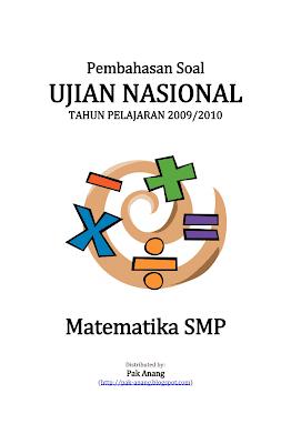 Pembahasan Soal Un Matematika Smp 2010 Informasi Pendidikan