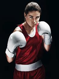 Katie Taylor, going for gold.