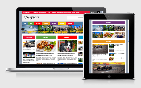 Xpress news responsive blogger template 2014 for blogger or blogspot,news blogger template 2014 2015,responsive blogger template 2014 premium download,3 column template for blogger,colorfull template for blogger,premium template for blogger 2014
