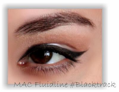 eyeliner, mac, mac fluidline, mac blacktrack, подводка, подводка для глаз, gel eyeliner,