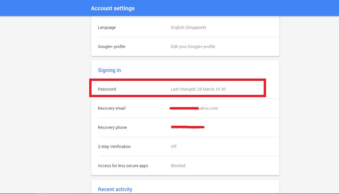 Cara Mudah Mengubah Password Akun Gmail