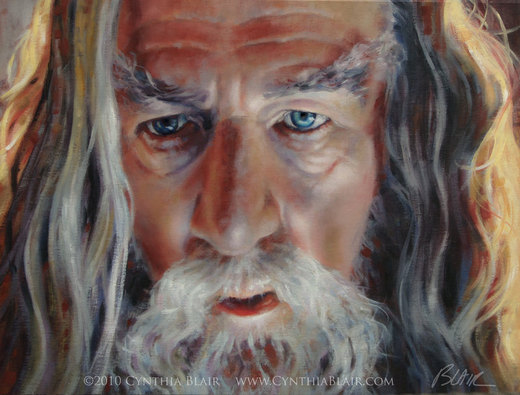 Gandalf The Grey por Cynthia-Blair