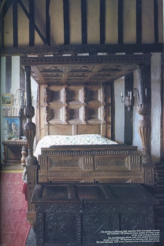 Tudor style house decorating