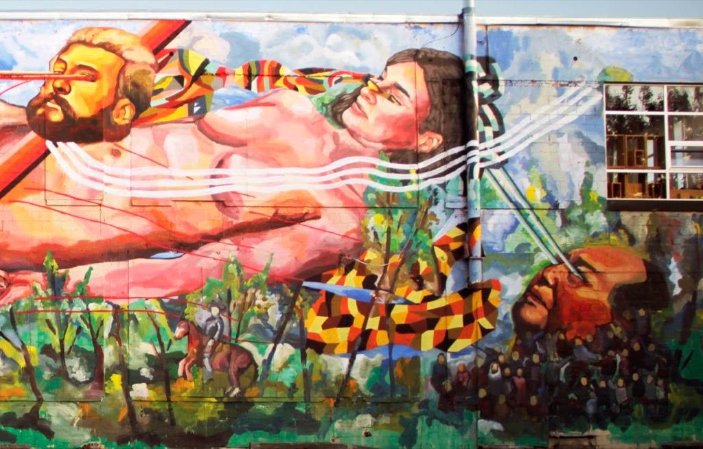 Ever la revolution silencieuse new mural for do art for Art mural montreal