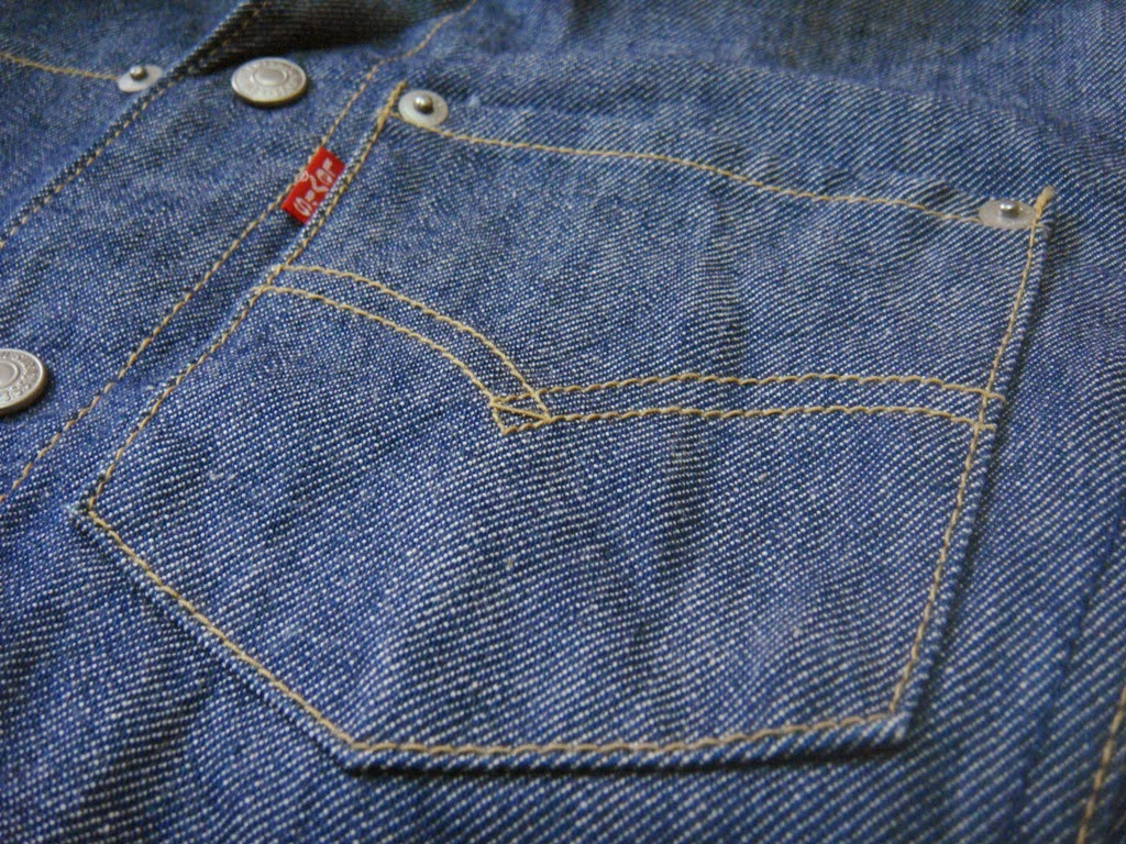 YouNG BLoOd BUndLE Levis Engineered Jeans JacketSOLD