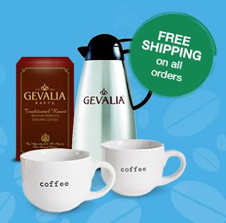 48 Gevalia K-Cups or 4 Boxes of Coffee Plus Carafe, and Mugs now $14.99 with Free Shipping