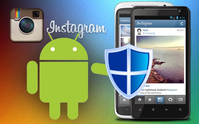 Cuidado com falso Instagram para Android